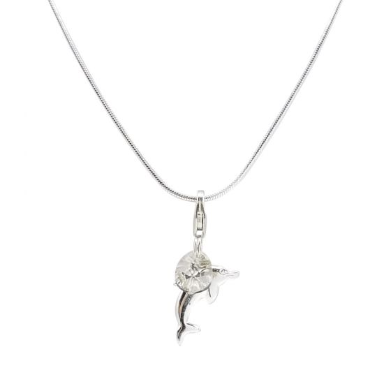 Sterling Silver Snake Chain Necklace Only (150 Add-On Charm Options)