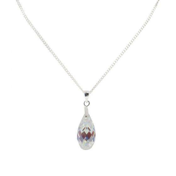 Small Briolette Crystal Necklace