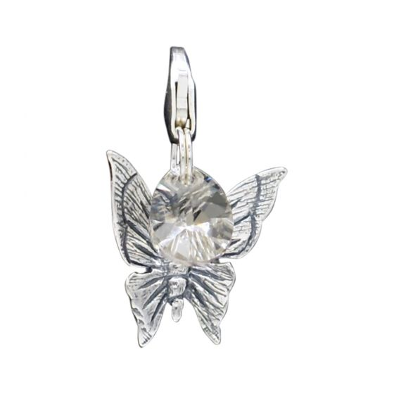 Sterling Silver Butterfly Add-On Charm