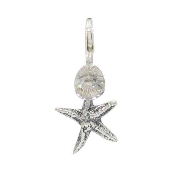 Sterling Silver Starfish Add-On Charm