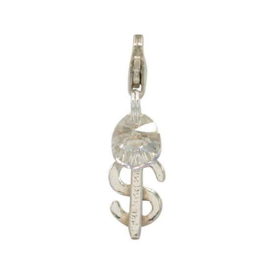 Sterling Silver Dollar Sign Add-On Charm