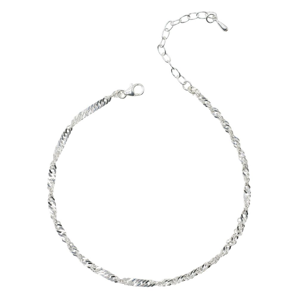 925 Sterling Silver Peace Cubic Zirconia Dove Charm 15mm x 9mm