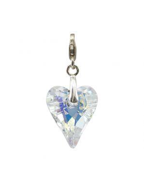Medium Wild Heart Crystal Add-On Charm