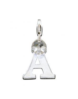 "Sterling Silver Letter ""A"" Add-On Charm"