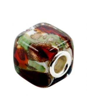 Hand Made Murano Square Bead