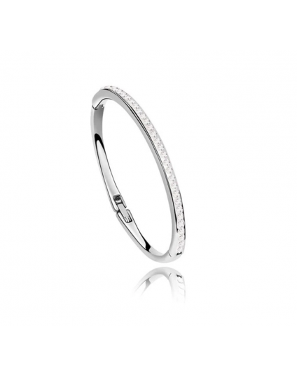 Delicate Crystal Setting Bangle