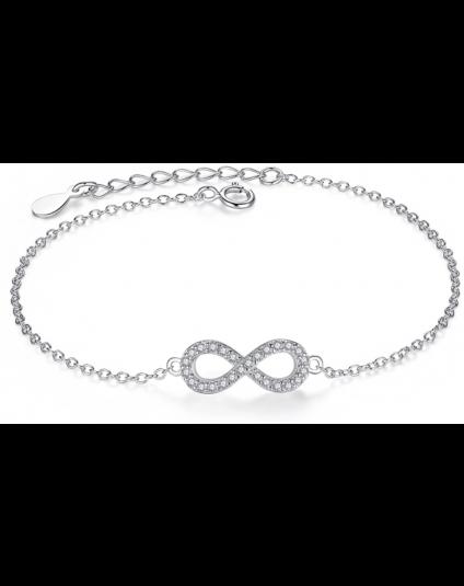 Tiny Infinity Crystal Bracelet