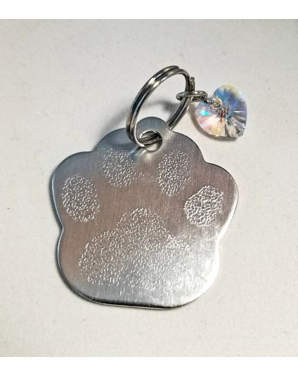 Personalized Dog Paw Pet Tag