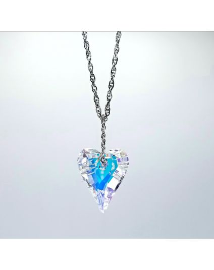 Long X Large Wild Heart Necklace
