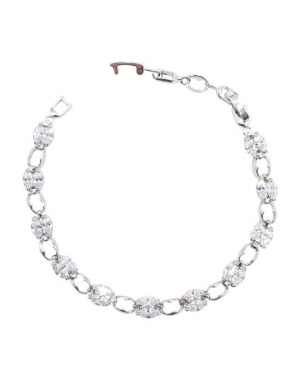 Delicate Marquise Crystal Bracelet