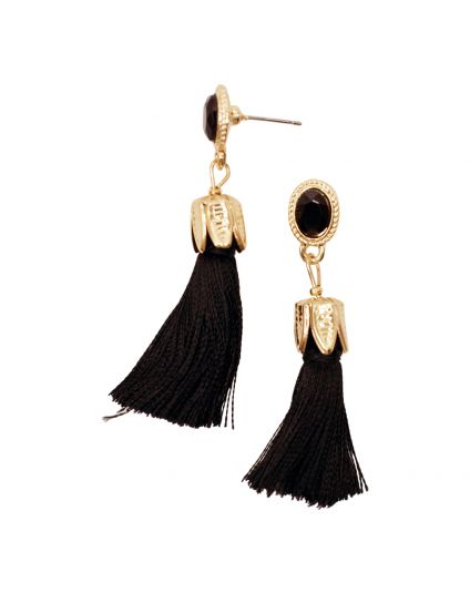 Tassle Stud Post Earings