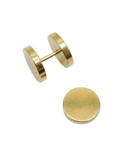 Unisex Screw-On Dumbell Studs