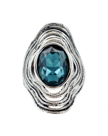 Antique Teal Ring