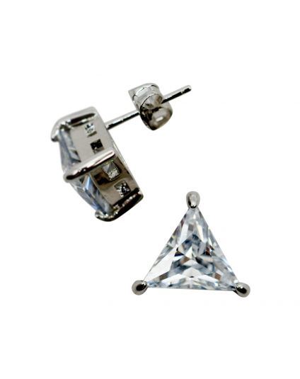 Triangle Crystal Studs