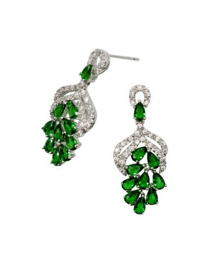 Stunning Crystal Cluster Earrings