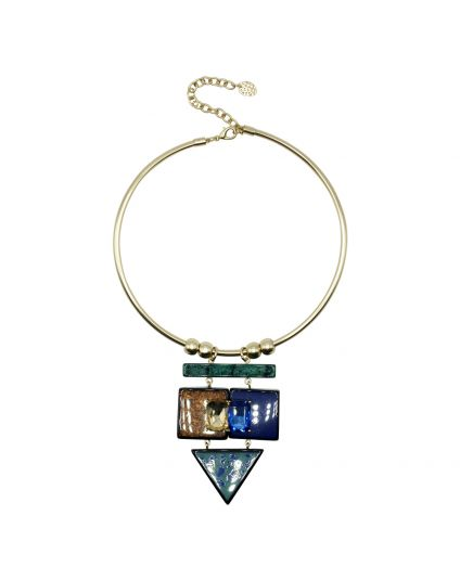 Torque Statement Necklace