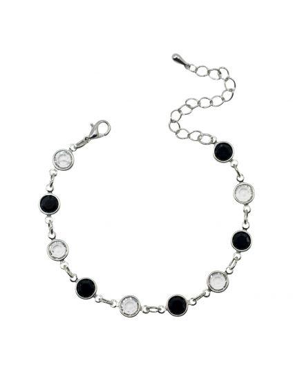 Chanel Rolo Crystal Bracelet