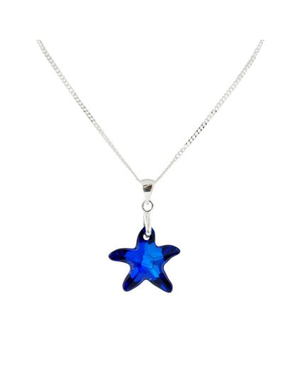 Free Spirit Small Starfish Crystal Necklace