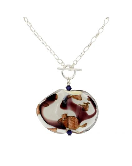 Murano Art Work Toggle Necklace