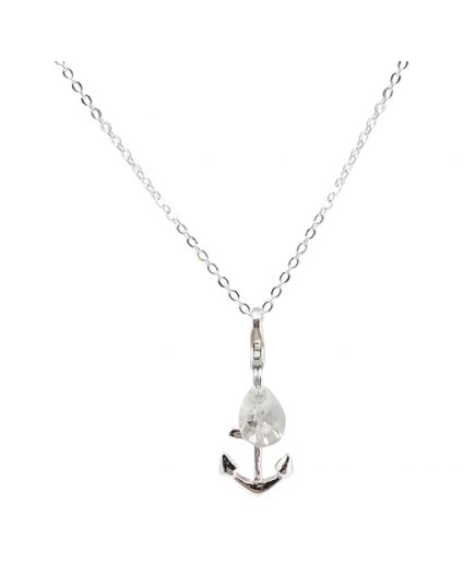 Sterling Silver Flat Rolo Chain Necklace Only (150 Add-On Charm Options)