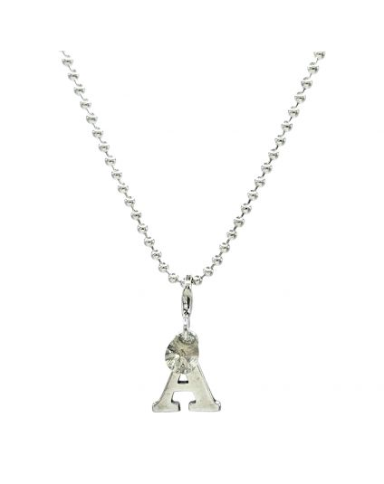 Sterling Silver 2mm Ball Link Chain Necklace Only (150 Add-On Charm Options)