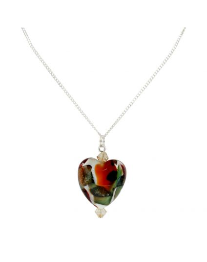 Murano Heart Necklace