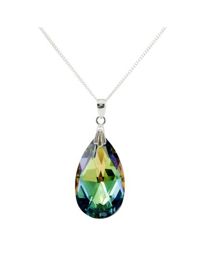 Classic Large Water Drop Crystal Necklace