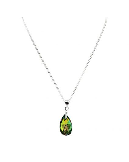 Classic Small Water Drop Crystal Necklace