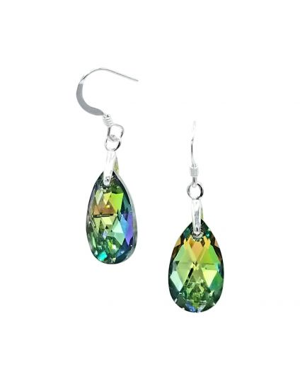 Classic Small Water Drop Crystal Earrings