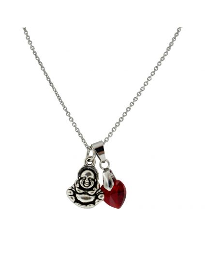 A Touch Of U Charmed Necklace (12 Heart Options)