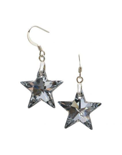 Be A Star Crystal Earrings