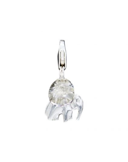 Sterling Silver Elephant Add-On Charm