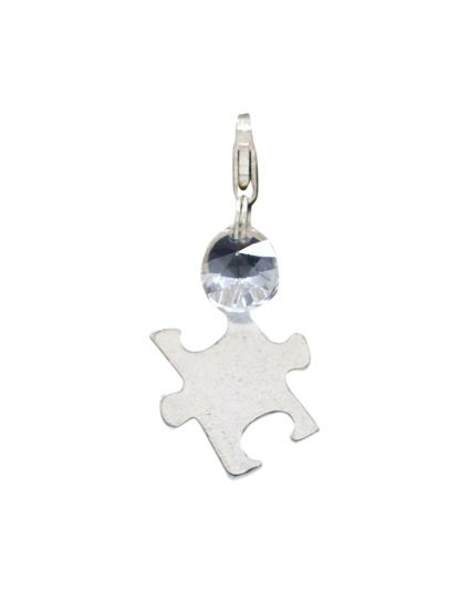 Sterling Silver Puzzle Add-On Charm