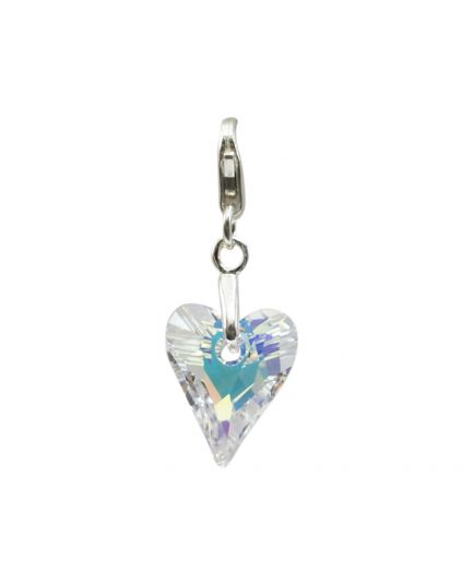 Tiny Wild Heart Crystal Add-On Charm