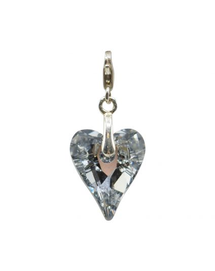 Medium Wild Heart Crystal Add-On Charm