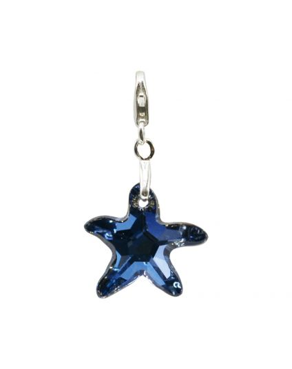 Small Starfish Crystal Add-On Charm