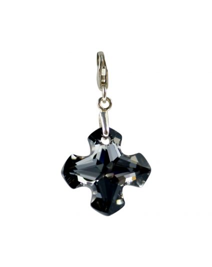 Medium Greek Cross Crystal Add-On Charm