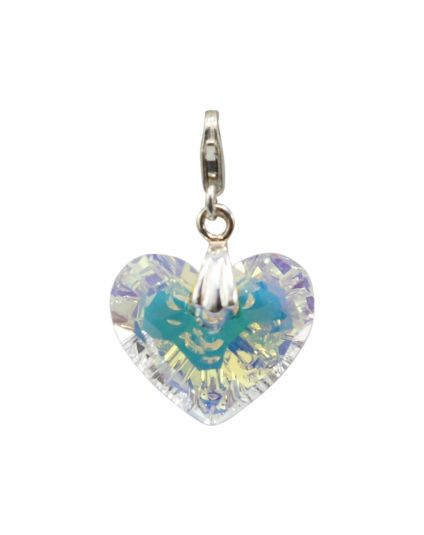 Truly In Love Crystal Heart Add-On Charm