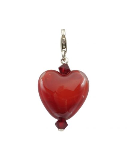 Murano Heart Add-On Charm