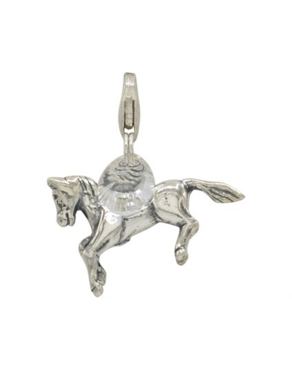 Sterling Silver Horse Add-On Charm