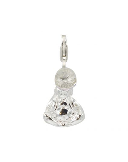 Sterling Silver Buddha Add-On Charm