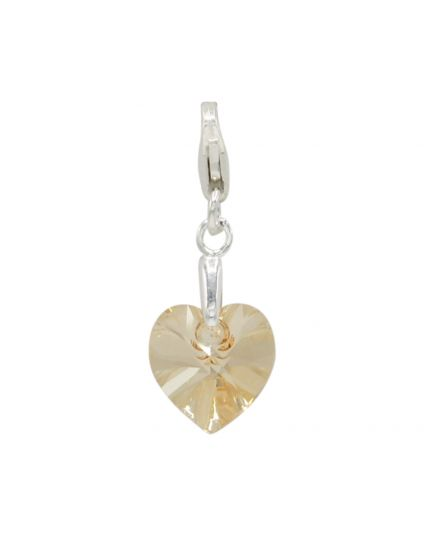 Classic Tiny Heart Crystal Add-On Charm