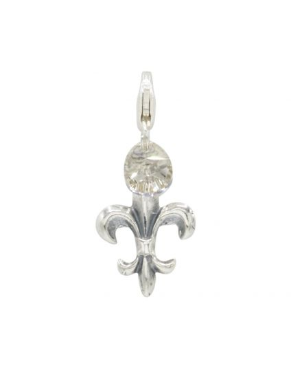 Sterling Silver Fleur De Lys Add-On Charm