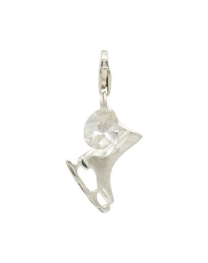 Sterling Silver Skate Add-On Charm