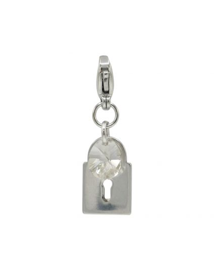 Stainless Steel Lock Add-On Charm