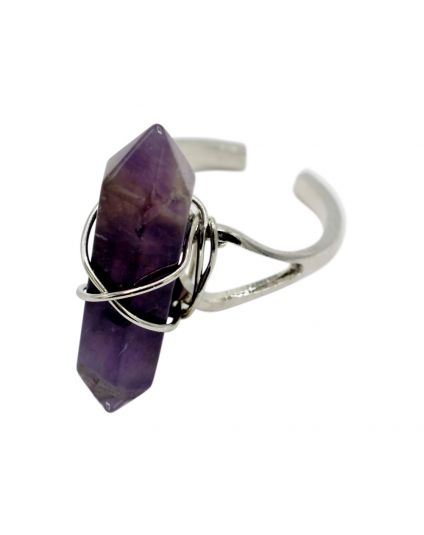 Hexagon Chakra Point Ring