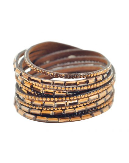 6 Layer Double Wrap Bracelet