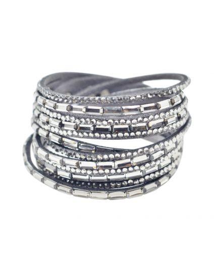 6 Layer Double Wrap Bracelet