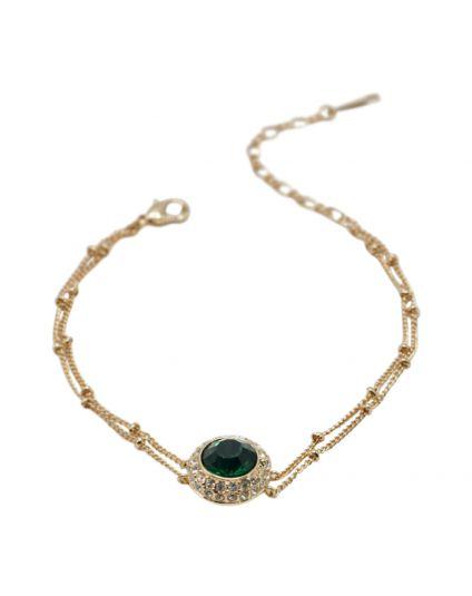Emerald Centerpiece Bracelet
