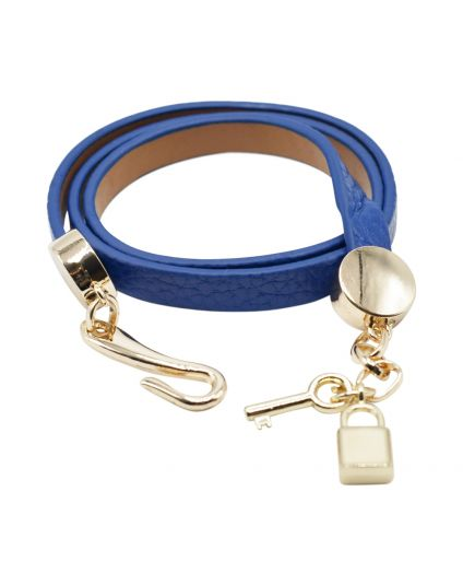 Leather Key & Lock Bracelet